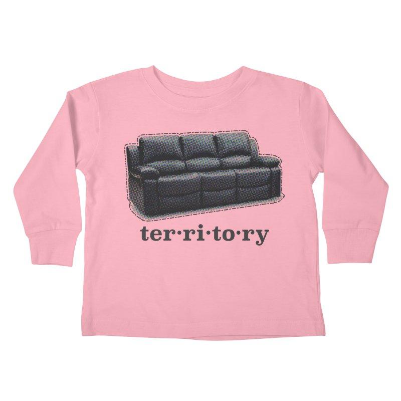 Territory Kids Toddler Longsleeve T-Shirt by navjinderism's Artist Shop