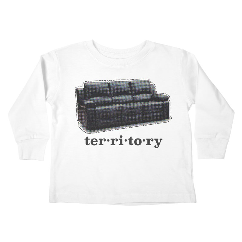 Territory Kids Toddler Longsleeve T-Shirt by navjinderism's Artist Shop