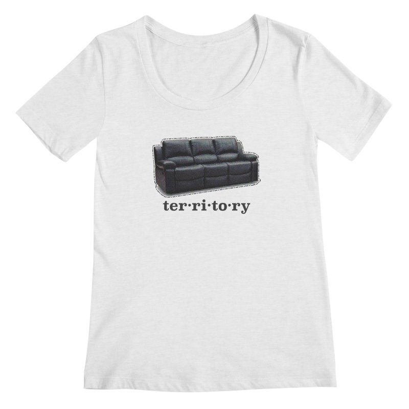 Territory Women's Regular Scoop Neck by navjinderism's Artist Shop