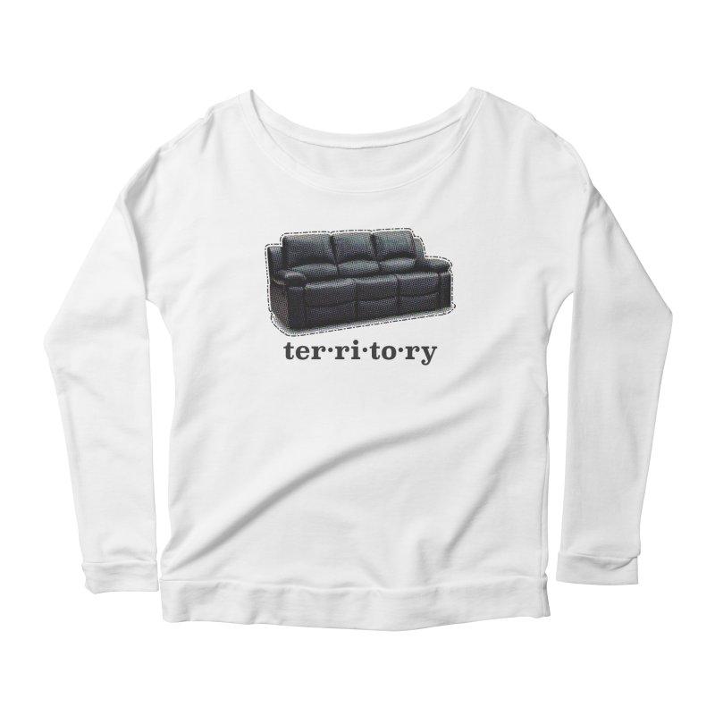 Territory Women's Scoop Neck Longsleeve T-Shirt by navjinderism's Artist Shop