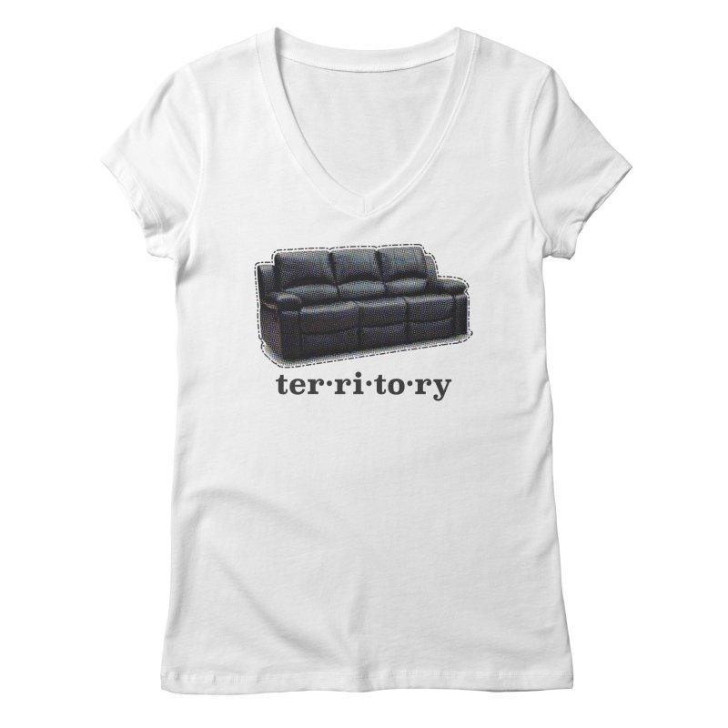 Territory Women's V-Neck by navjinderism's Artist Shop