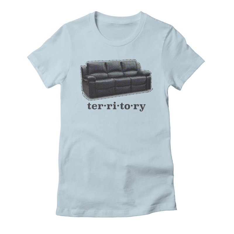 Territory Women's Fitted T-Shirt by navjinderism's Artist Shop