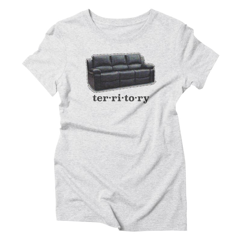 Territory Women's Triblend T-Shirt by navjinderism's Artist Shop