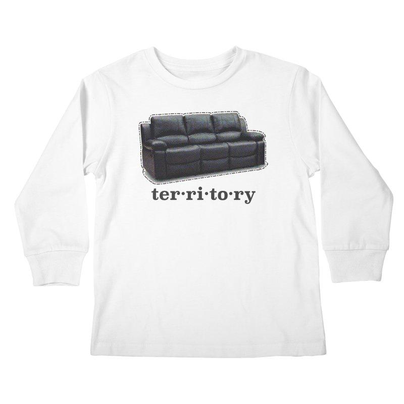 Territory Kids Longsleeve T-Shirt by navjinderism's Artist Shop
