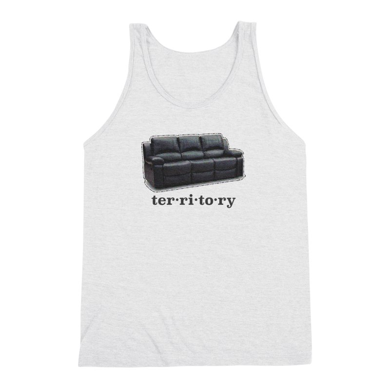 Territory Men's Triblend Tank by navjinderism's Artist Shop