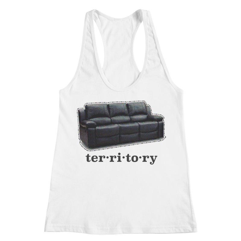 Territory Women's Racerback Tank by navjinderism's Artist Shop