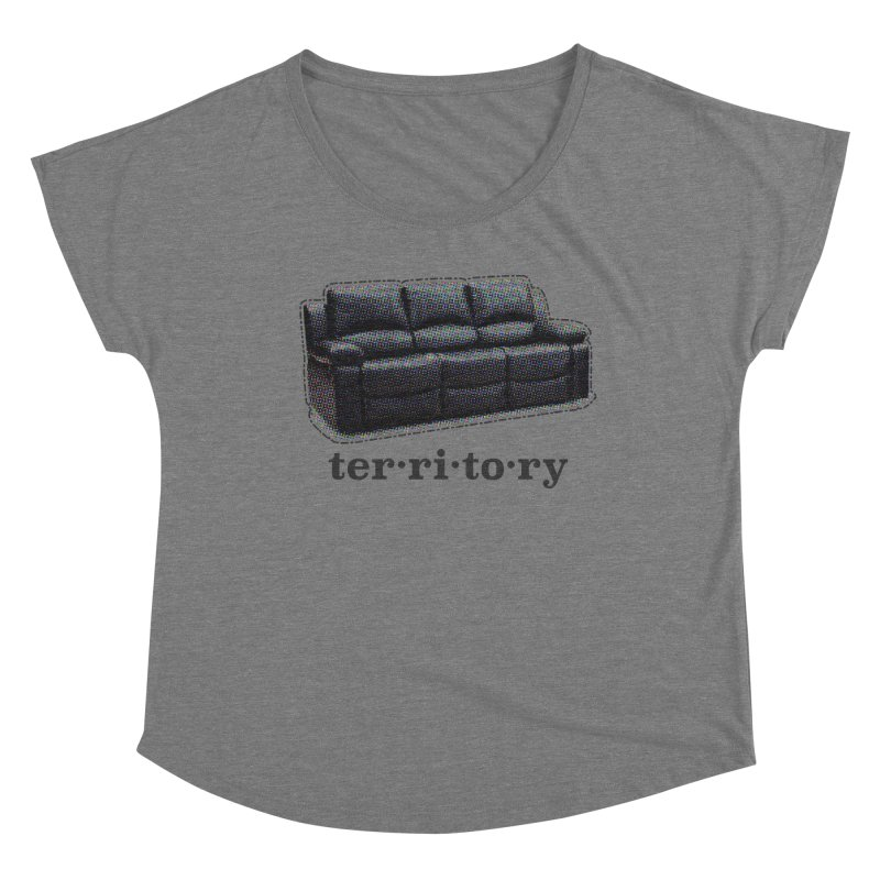 Territory Women's Scoop Neck by navjinderism's Artist Shop