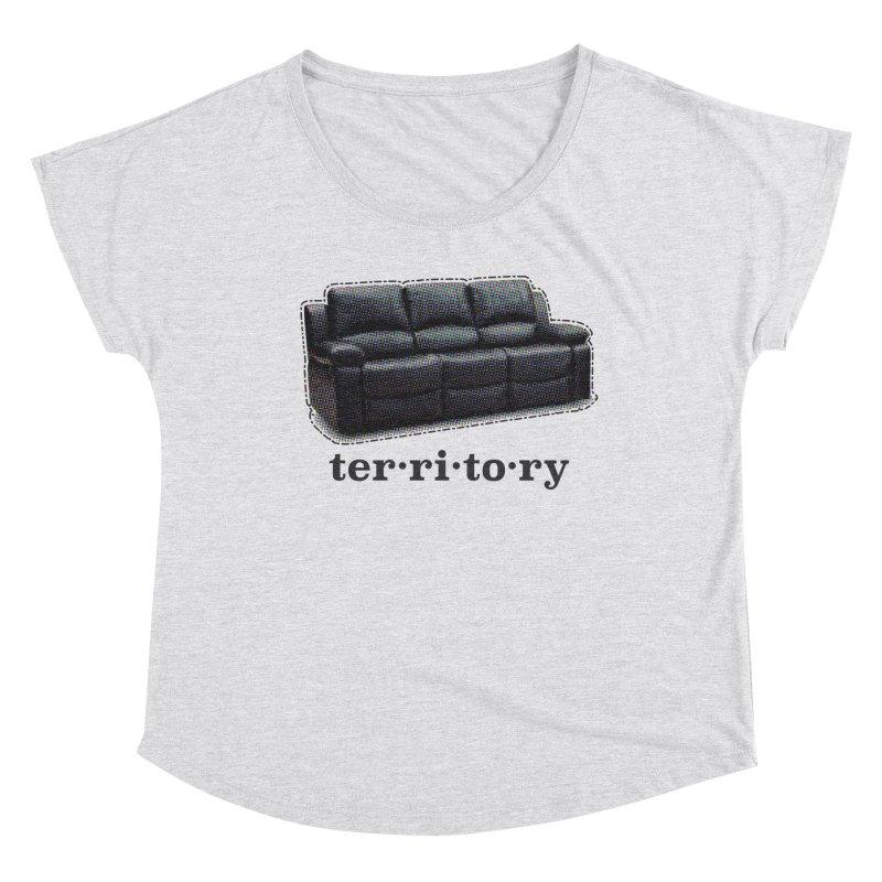 Territory Women's Scoop Neck by navjinderism's Artist Shop