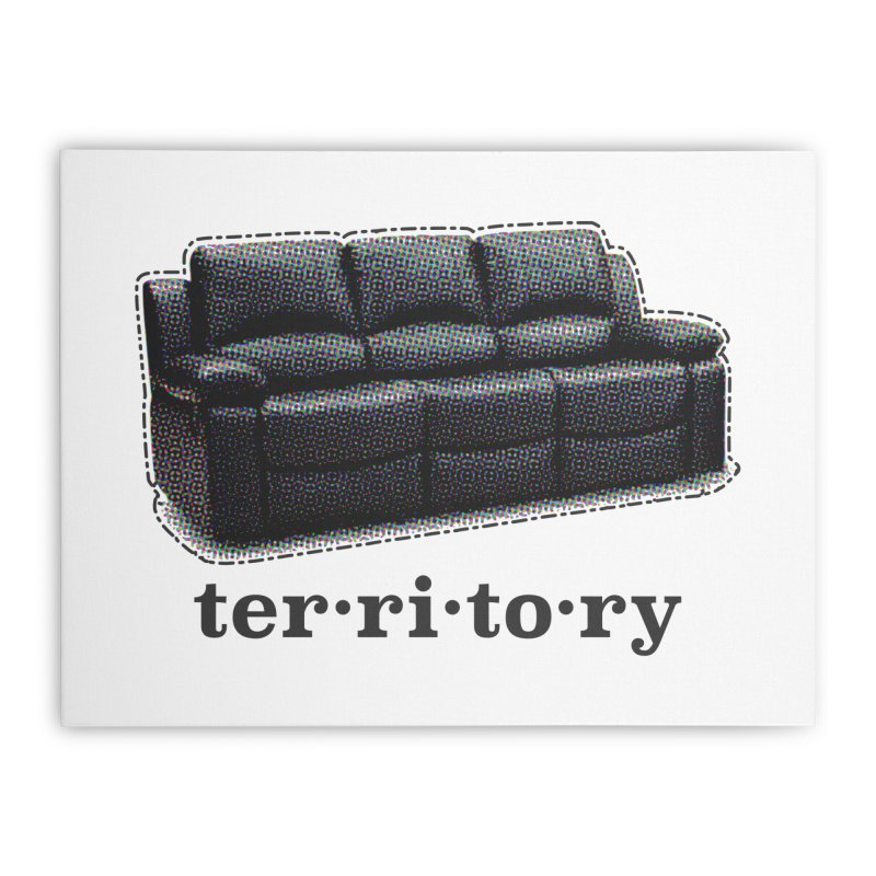 Territory Home Stretched Canvas by navjinderism's Artist Shop
