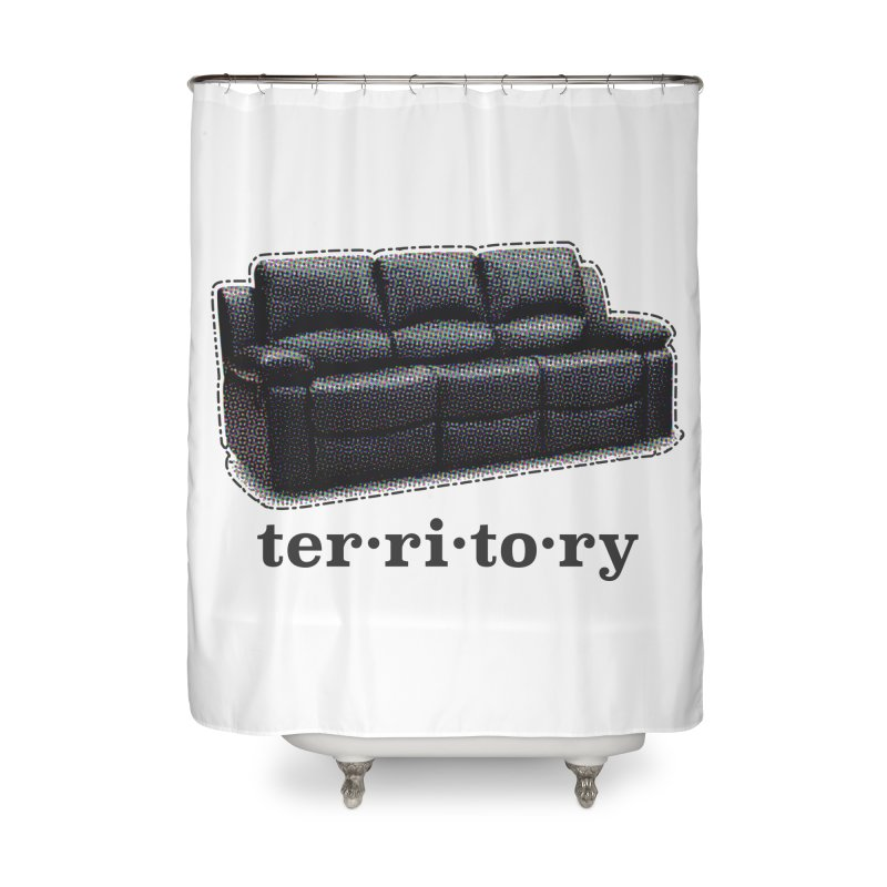 Territory Home Shower Curtain by navjinderism's Artist Shop