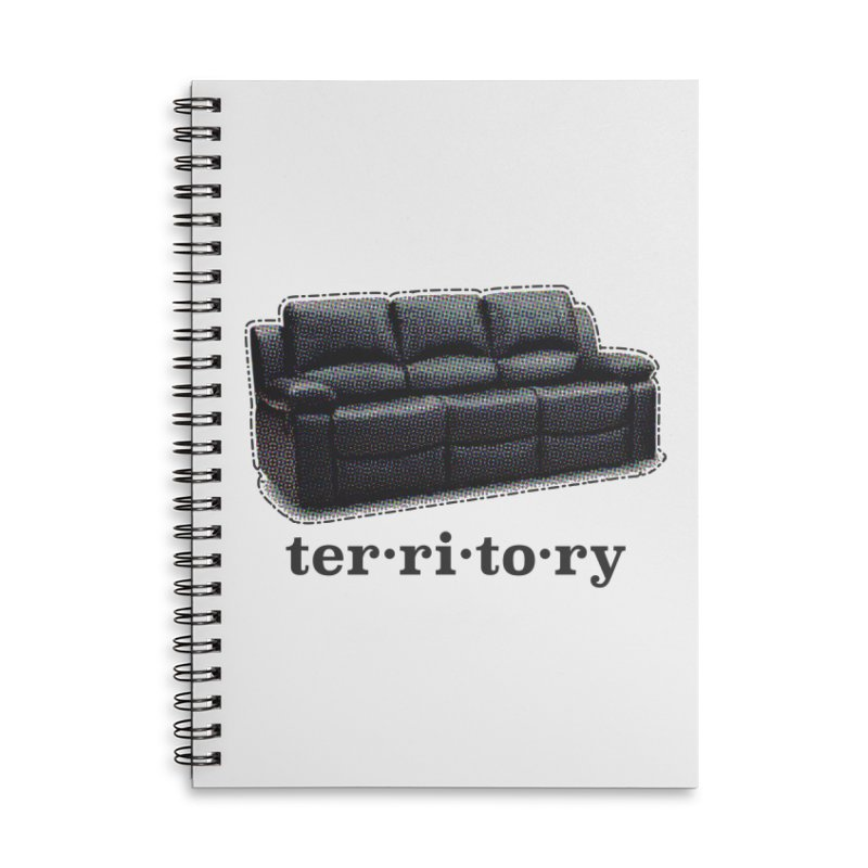 Territory Accessories Lined Spiral Notebook by navjinderism's Artist Shop