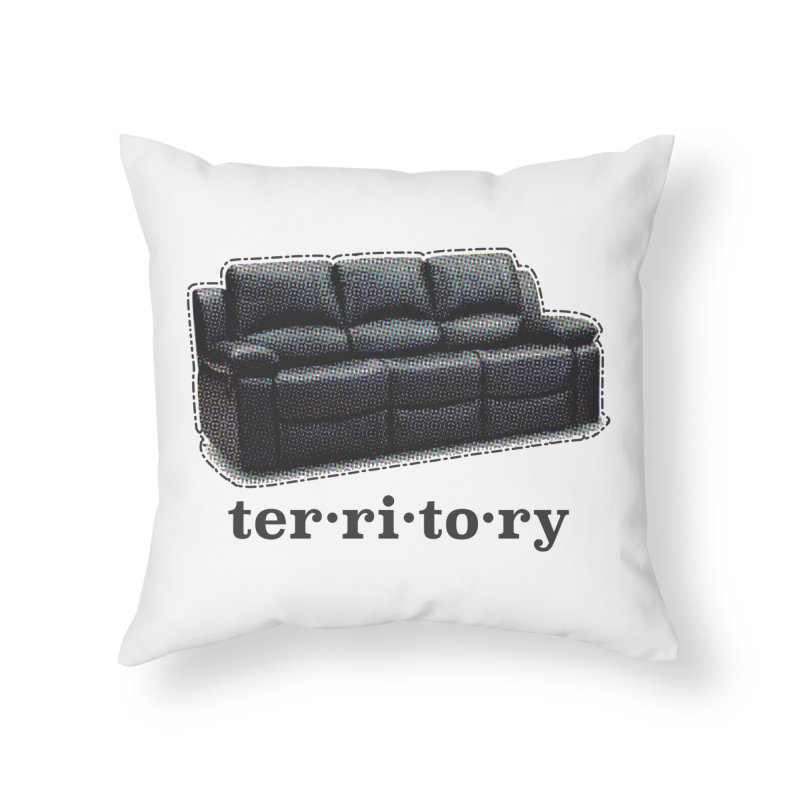 Territory Home Throw Pillow by navjinderism's Artist Shop