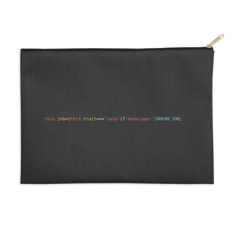DREAM_JOB Accessories Zip Pouch by navjinderism's Artist Shop