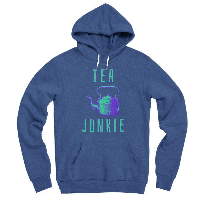 Tea Junkie Women's Pullover Hoody by navjinderism's Artist Shop