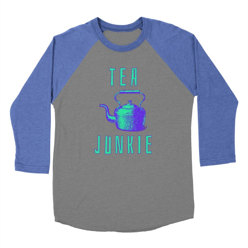 Tea Junkie Men's Longsleeve T-Shirt by navjinderism's Artist Shop