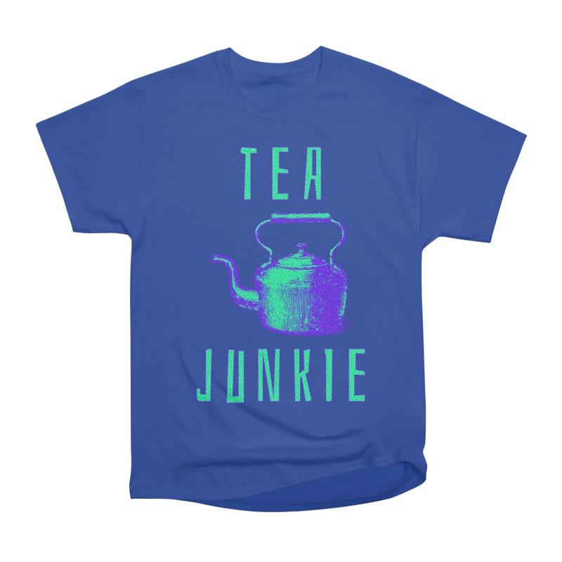 Tea Junkie Men's Heavyweight T-Shirt by navjinderism's Artist Shop