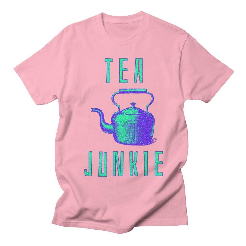 Tea Junkie Women's Regular Unisex T-Shirt by navjinderism's Artist Shop