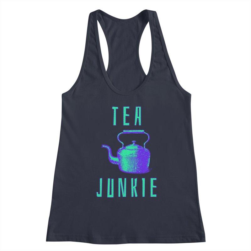 Tea Junkie Women's Tank by navjinderism's Artist Shop