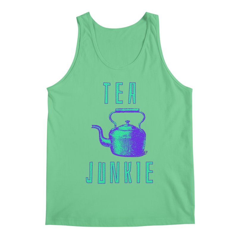 Tea Junkie Men's Regular Tank by navjinderism's Artist Shop