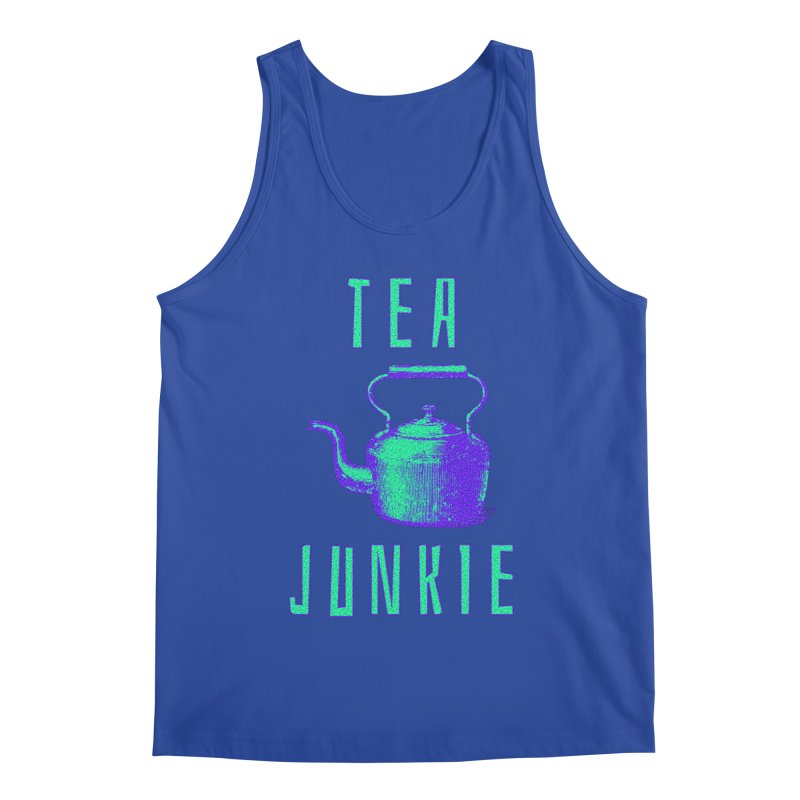 Tea Junkie Men's Tank by navjinderism's Artist Shop