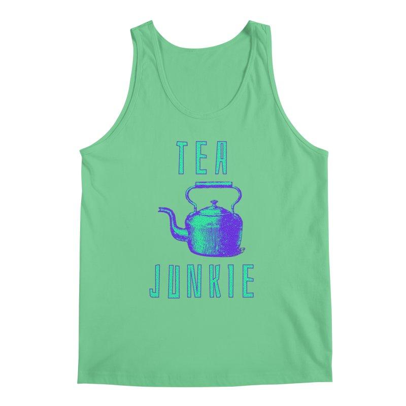 Tea Junkie Men's Regular Tank by navjinderism's Artist Shop