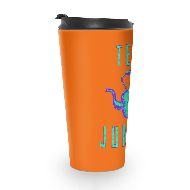 Tea Junkie Accessories Travel Mug by navjinderism's Artist Shop
