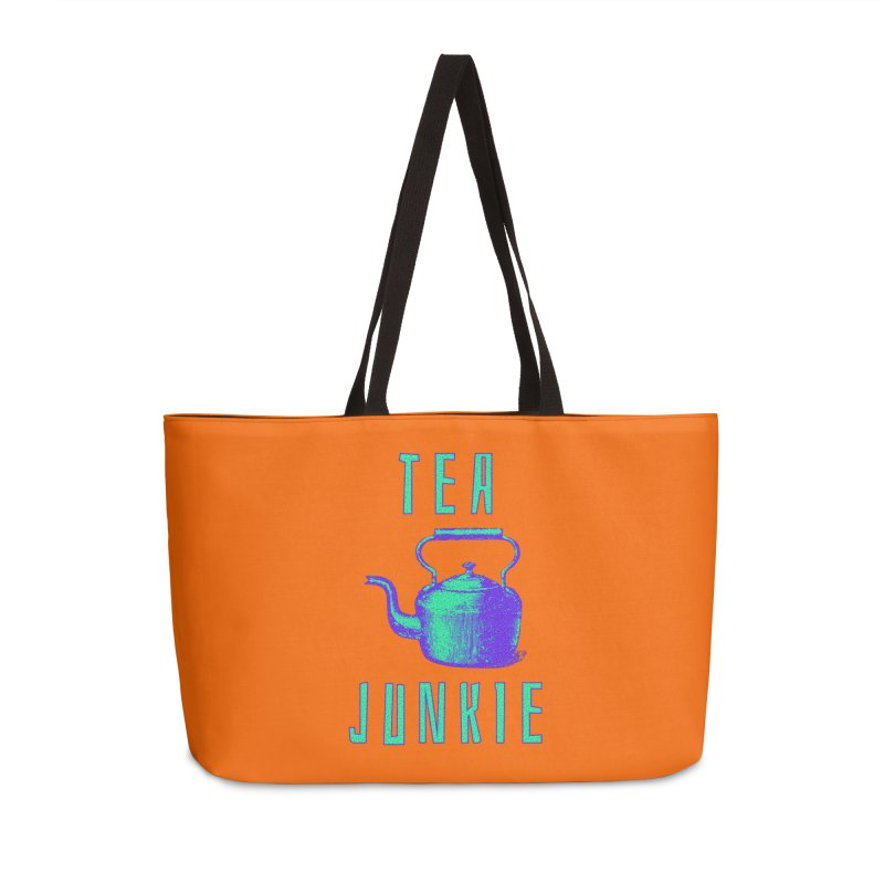 Tea Junkie Accessories Bag by navjinderism's Artist Shop