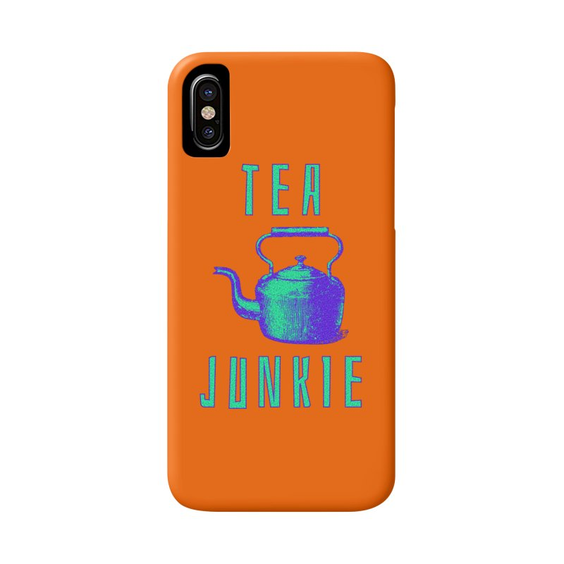 Tea Junkie Accessories Phone Case by navjinderism's Artist Shop