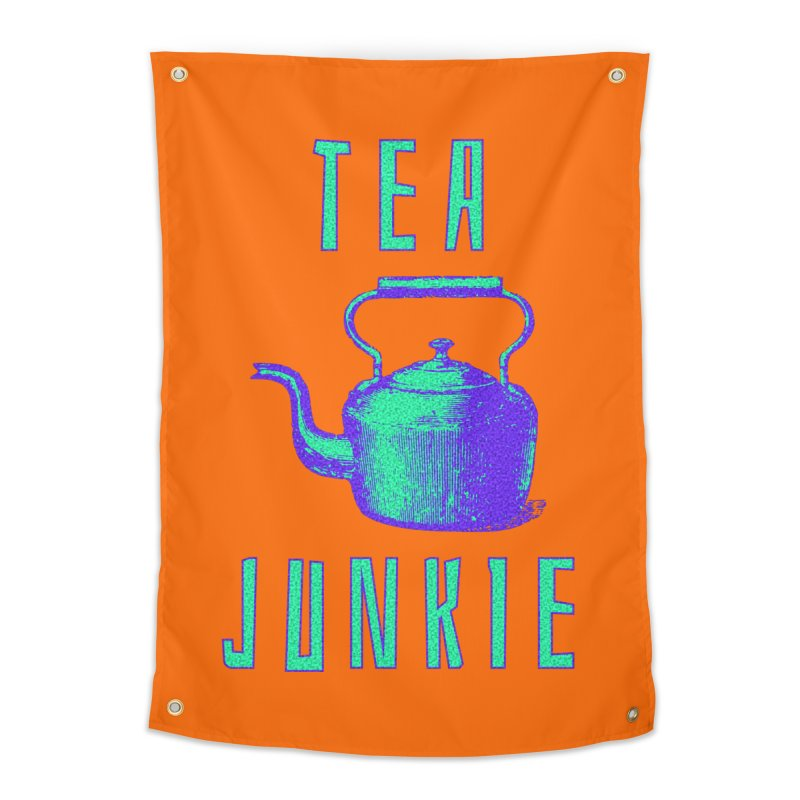 Tea Junkie Home Tapestry by navjinderism's Artist Shop