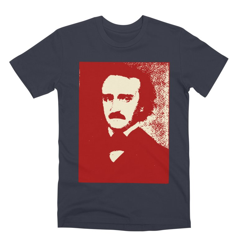 Poe is Poetry Men's Premium T-Shirt by navjinderism's Artist Shop