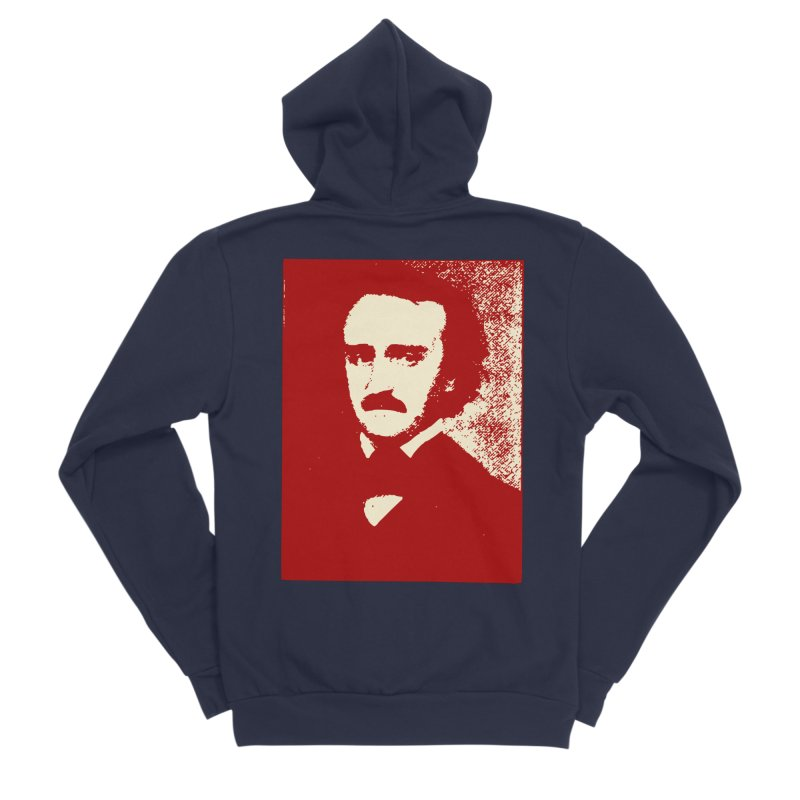 Poe is Poetry Women's Sponge Fleece Zip-Up Hoody by navjinderism's Artist Shop