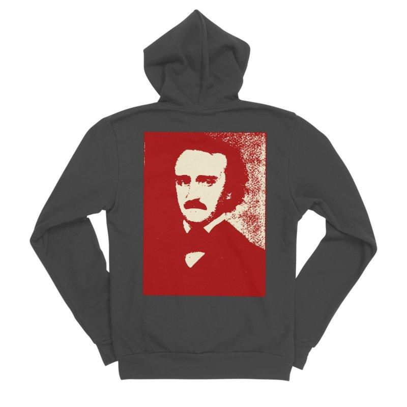 Poe is Poetry Women's Sponge Fleece Zip-Up Hoody by navjinderism's Artist Shop