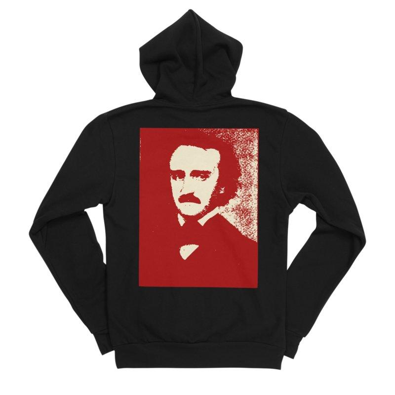 Poe is Poetry Men's Zip-Up Hoody by navjinderism's Artist Shop