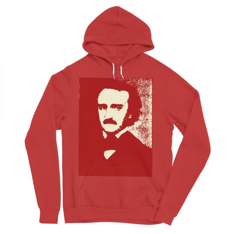 Poe is Poetry Men's Sponge Fleece Pullover Hoody by navjinderism's Artist Shop