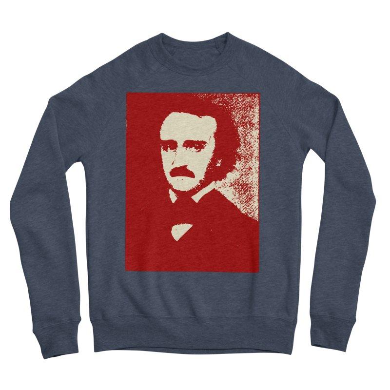 Poe is Poetry Men's Sponge Fleece Sweatshirt by navjinderism's Artist Shop