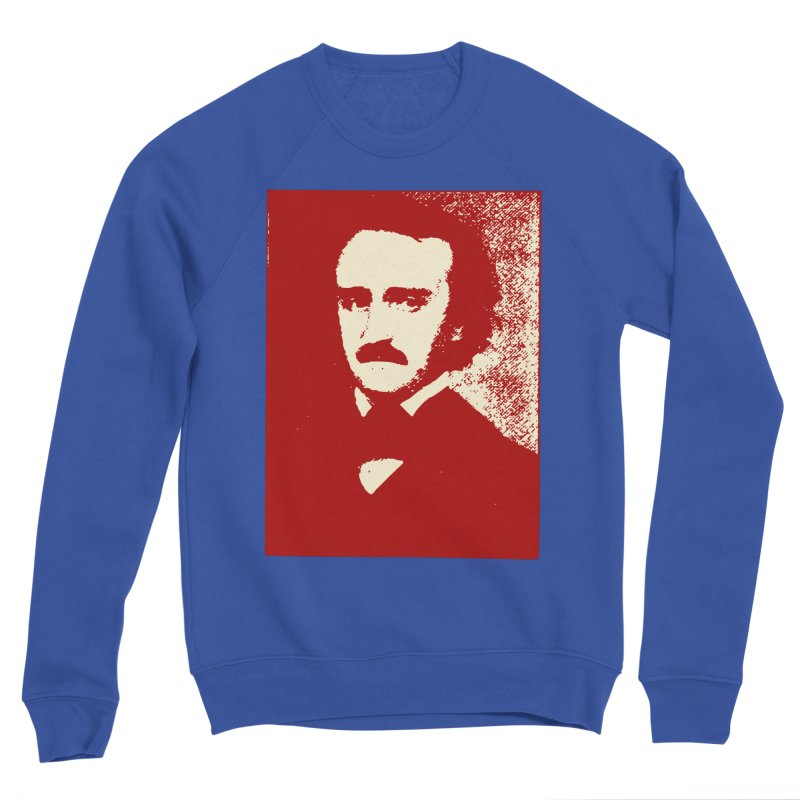 Poe is Poetry Men's Sponge Fleece Sweatshirt by navjinderism's Artist Shop