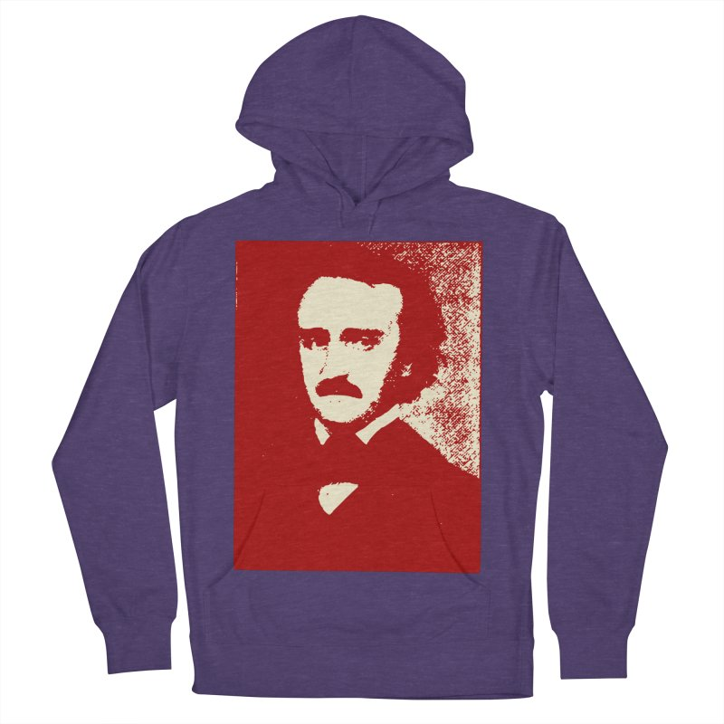 Poe is Poetry Men's French Terry Pullover Hoody by navjinderism's Artist Shop