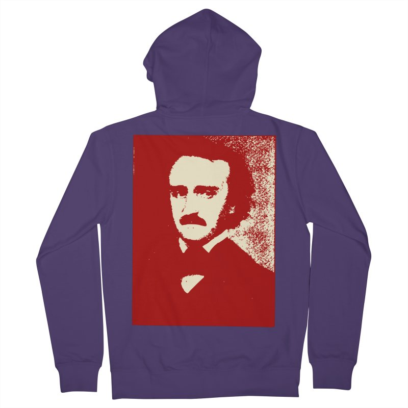 Poe is Poetry Women's Zip-Up Hoody by navjinderism's Artist Shop
