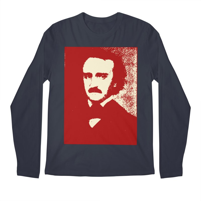 Poe is Poetry Men's Longsleeve T-Shirt by navjinderism's Artist Shop
