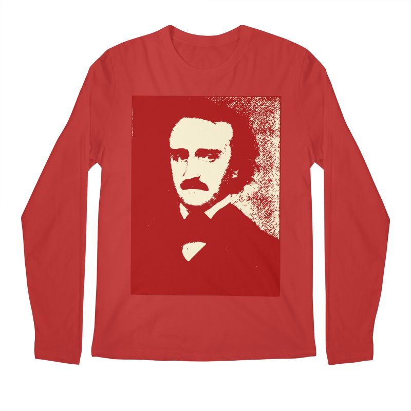 Poe is Poetry Men's Regular Longsleeve T-Shirt by navjinderism's Artist Shop