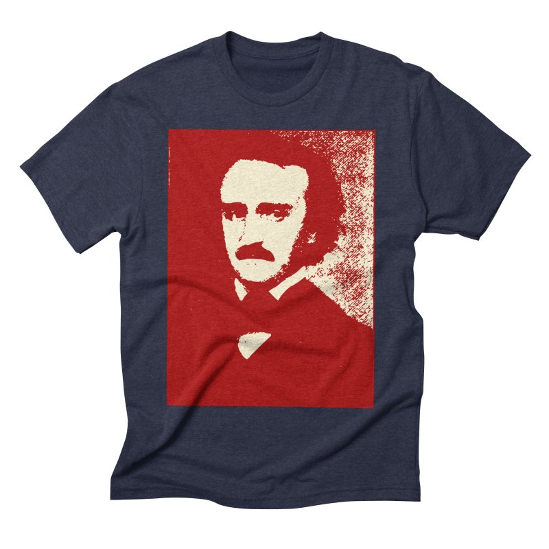 Poe is Poetry Men's Triblend T-Shirt by navjinderism's Artist Shop
