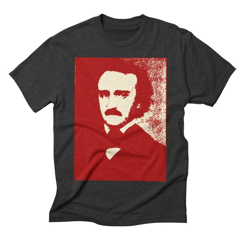 Poe is Poetry Men's Triblend T-Shirt by navjinderism's Artist Shop