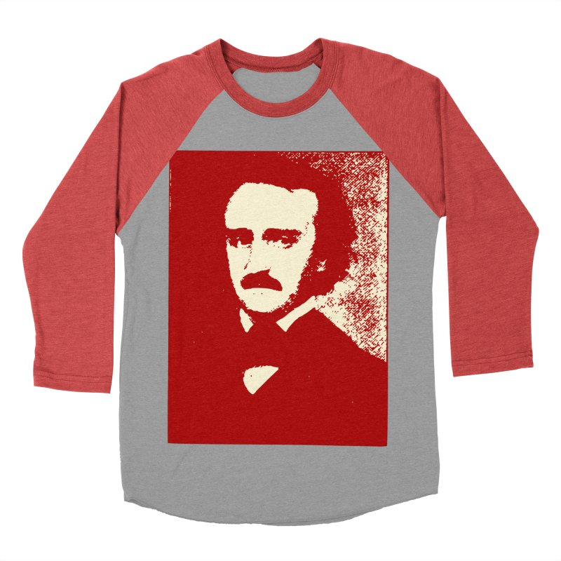 Poe is Poetry Women's Baseball Triblend Longsleeve T-Shirt by navjinderism's Artist Shop