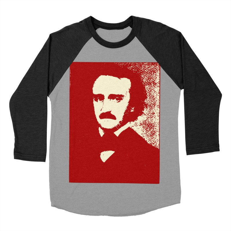 Poe is Poetry Women's Baseball Triblend Longsleeve T-Shirt by navjinderism's Artist Shop
