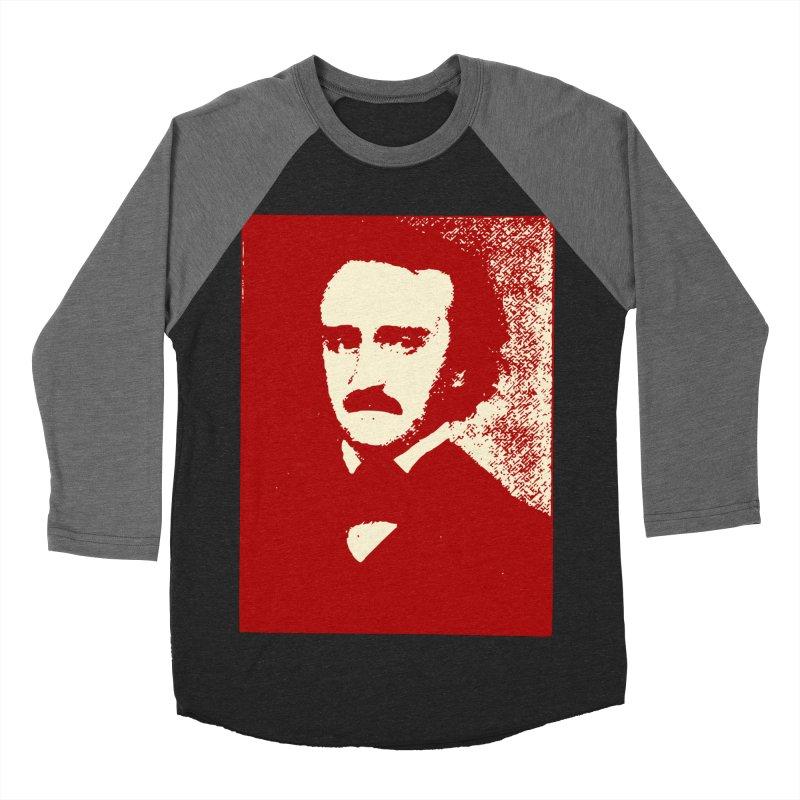 Poe is Poetry Men's Baseball Triblend Longsleeve T-Shirt by navjinderism's Artist Shop