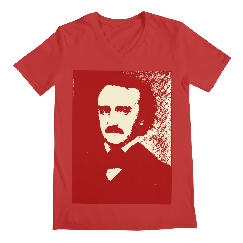 Poe is Poetry Men's Regular V-Neck by navjinderism's Artist Shop