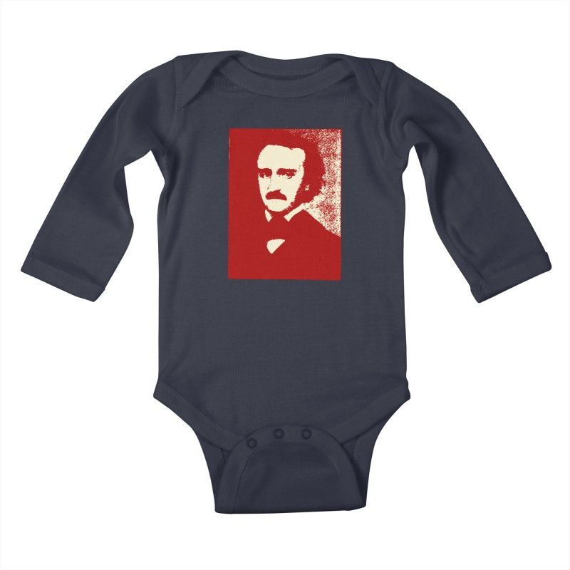 Poe is Poetry Kids Baby Longsleeve Bodysuit by navjinderism's Artist Shop