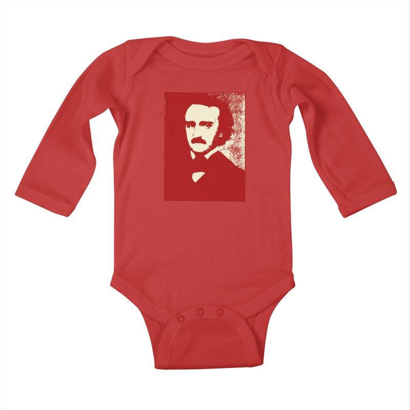 Poe is Poetry Kids Baby Longsleeve Bodysuit by navjinderism's Artist Shop