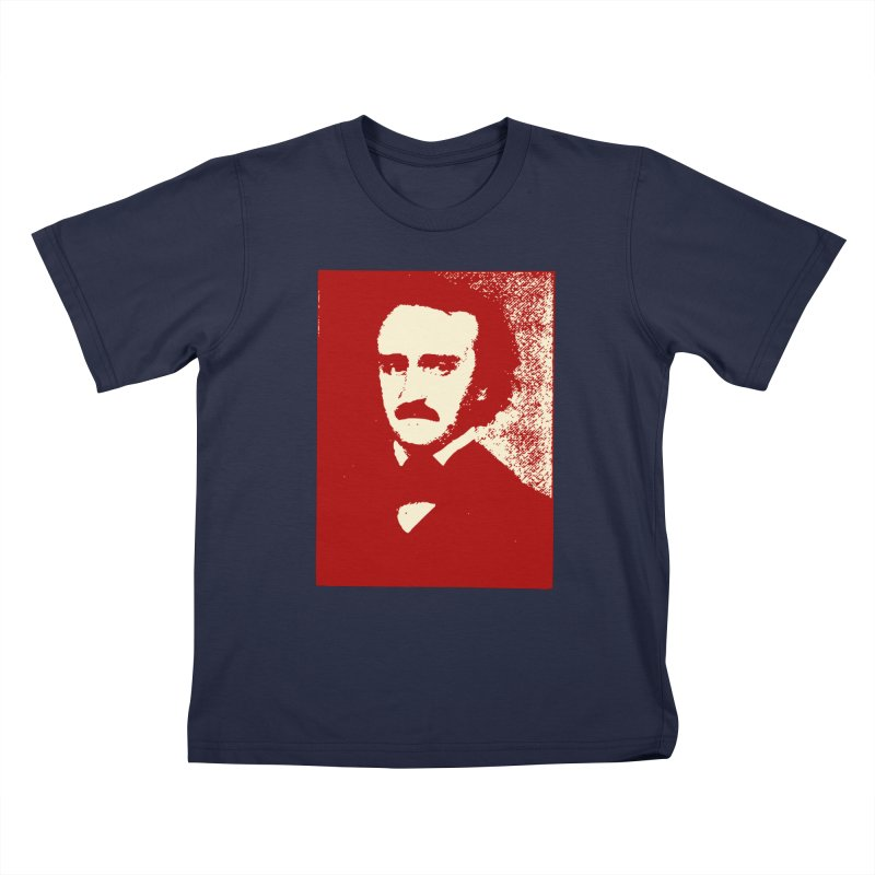 Poe is Poetry Kids T-Shirt by navjinderism's Artist Shop