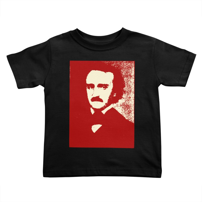 Poe is Poetry Kids Toddler T-Shirt by navjinderism's Artist Shop